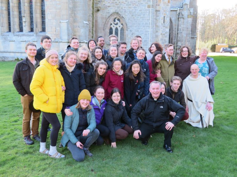 St. Andrews Uni CathSoc Visit Pluscarden Abbey